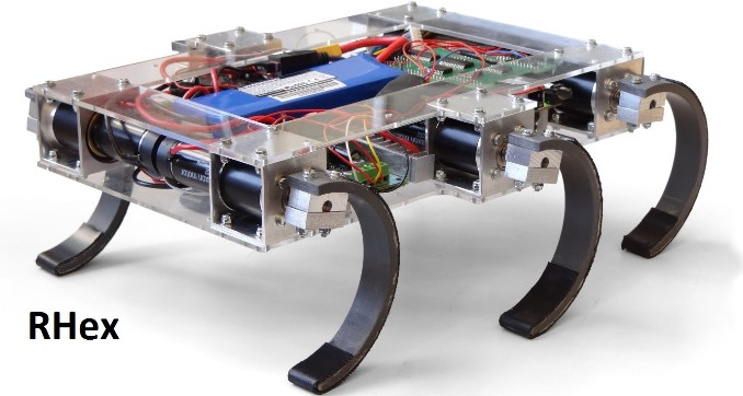 RHex by Boston Dynamics