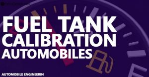 Fuel Tank Calibration in Automobiles