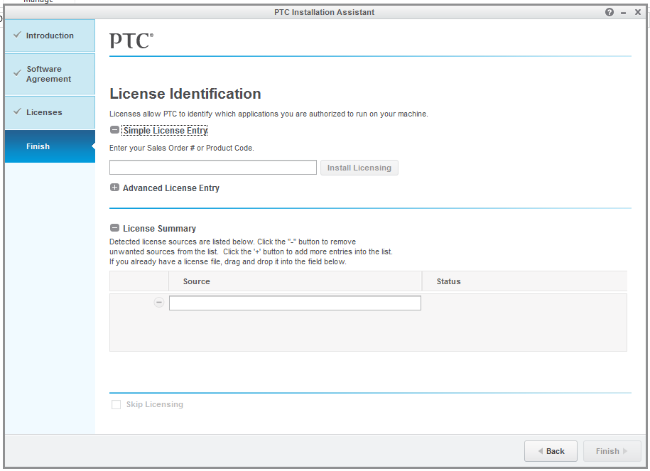 Installation of PTC Creo 3.0 Parametric