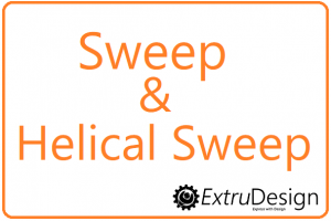 Difference between SWEEP and HELICAL SWEEP in creo