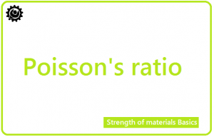 Poisson ratio | Definition of Poisson's ratio