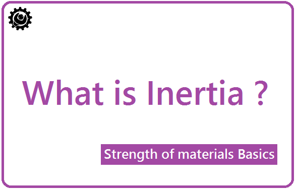 What is Inertia? | moment of inertia
