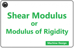 Shear Modulus | Modulus of Rigidity