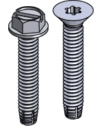 Types of screws | Screw Head types