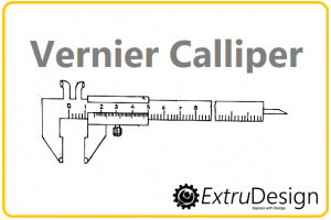 Vernier Calliper Diagram, Working principle