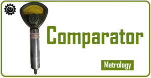 What is a Comparator in metrology ? | Types of comparators