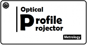 What is Optical Profile Projector working principle?