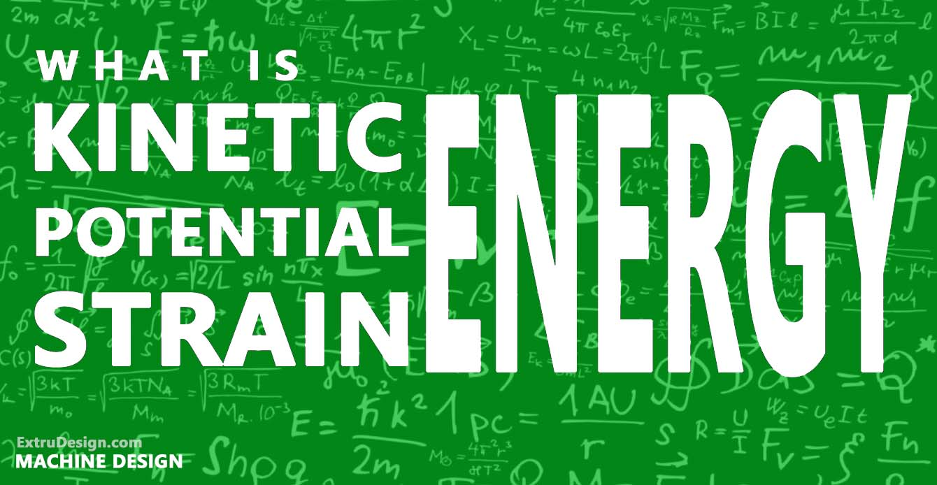 What is Kinetic Energy? | What is Potential Energy? | Strain Energy