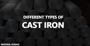 What are the different Cast Iron Types?