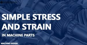 What is Simple Stress and Strain definitions?