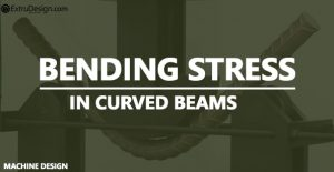 What is Bending stress ? Bending stress in Curved Beams?