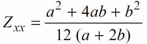 Section Modulus of a Trapezoidal