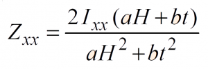 Section Modulus of a T-Section