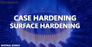 What are the different Case Hardening processes?