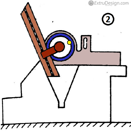 Optical Bevel Protractor working position example