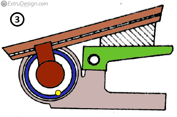 Optical Bevel Protractor working position sample