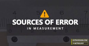 What are the sources of errors in measurement?