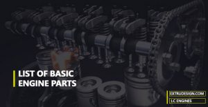What list of basic engine Components? | Internal Combustion Engines |