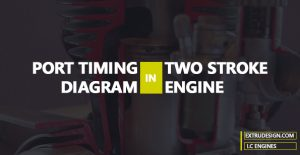 What is Port Timing diagram in Two-stroke Engines?