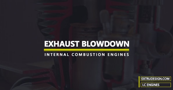 Exhaust Blowdown in Actual Cycles