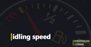 What is idling speed?