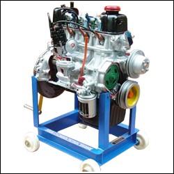 Four Stroke Four Cylinder Petrol Engine