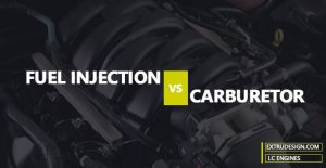 What is the functional difference between Fuel Injection and Carburetor?
