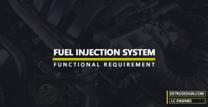 What are the basic functional requirements of the Fuel Injection system?