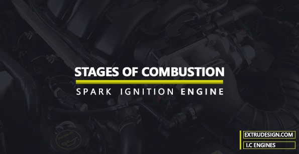 Stages of combustion in SI engine