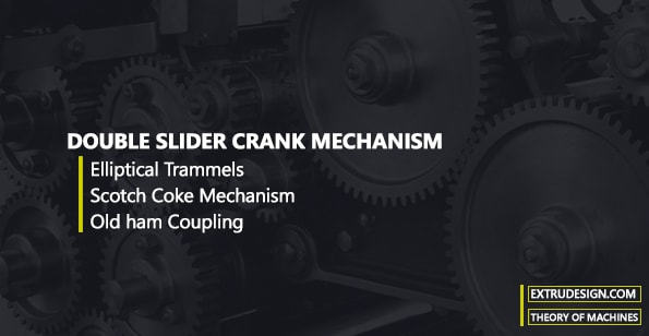 Double Slider crank mechanism Inversions