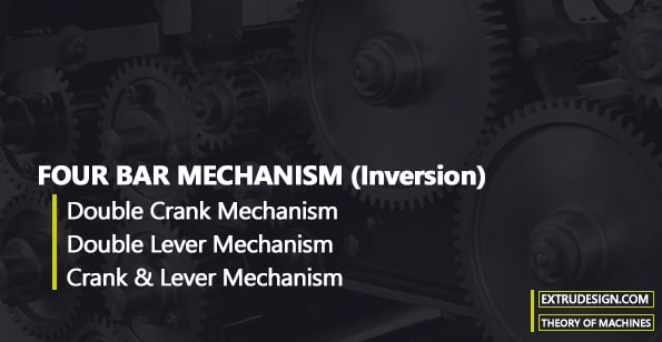 Inversions of Four Bar Mechanism