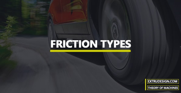 What are the different types of Friction?