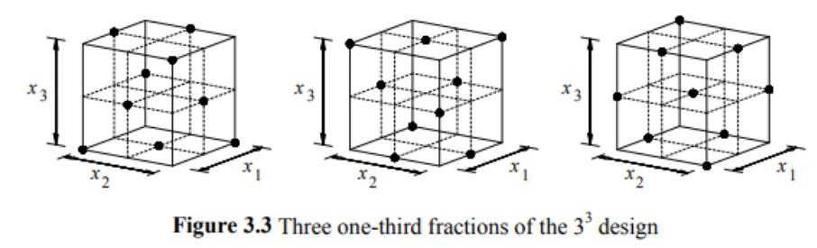 Three one third fractions