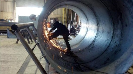 Fig. 1.1 welding in Pressure vessels
