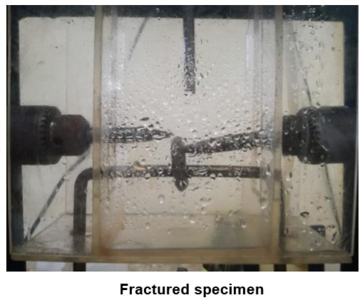 Experimental Procedure for Corrosion Fatigue Analysis
