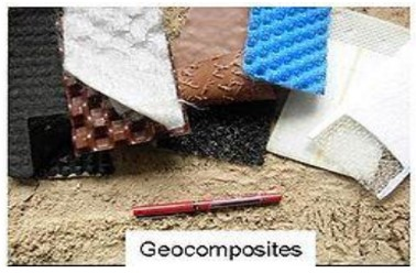 Figure 5: picture showing different types of geocomposites