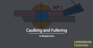 What is Caulking and Fullering in Riveted Joint?